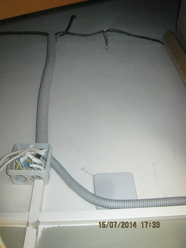 Прокладака проводки открытым способом