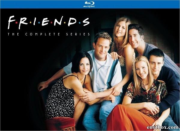 Друзья / Friends (1-10 сезоны) [1994-2004, BDRip 720p | BDRip-AVC | HDRip]