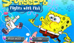 ����� ��� ������ ��� (SpongeBob Fights With Fish)