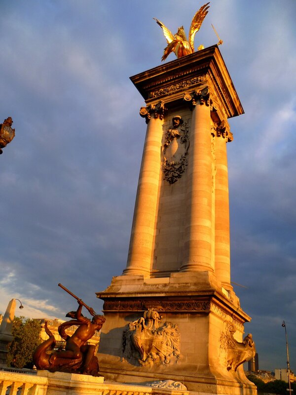 Париж, мост Александра III (Paris, Pont Alexandre III)