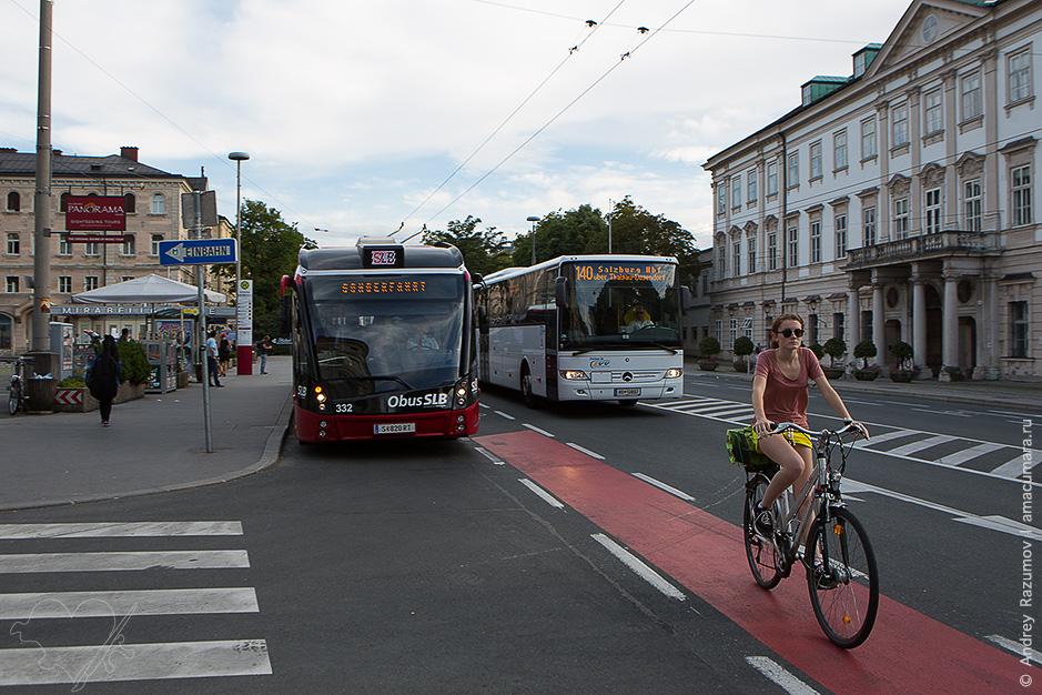 Троллейбусы в Зальцбурге