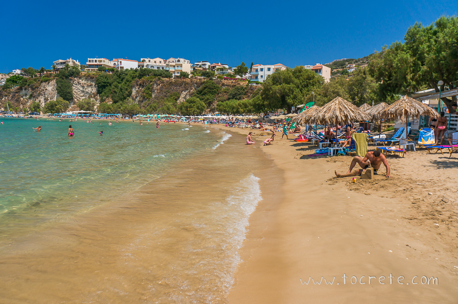 Пляж Альмирида | Almirida beach