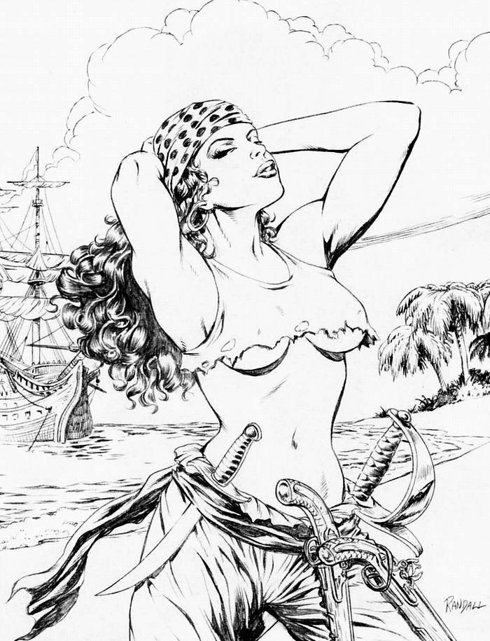 Графика: истории из жизни девушек - пираток (32)