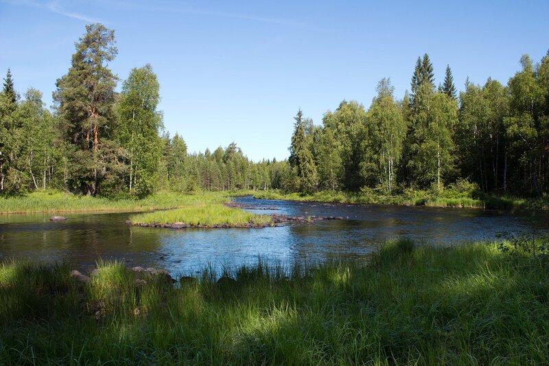 река Семча, Карелия