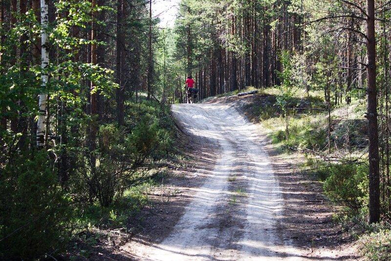 дорога на Фоминнаволок