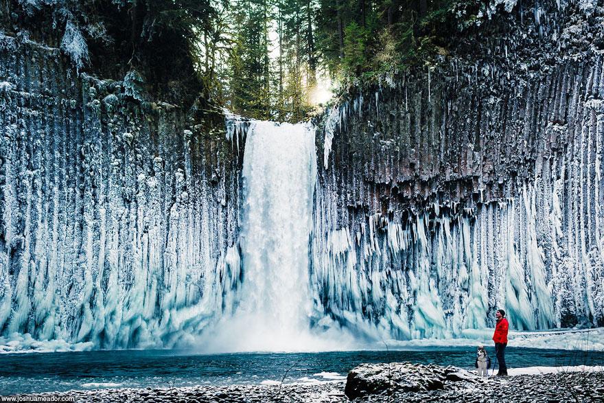 Водопады Абиква. Штат Орегон (США)