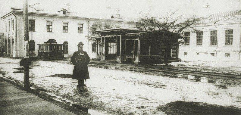 9037 Конечная станция у Тимирязевской академии 1900.jpg