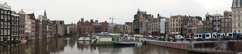 В центральной части Амстердама