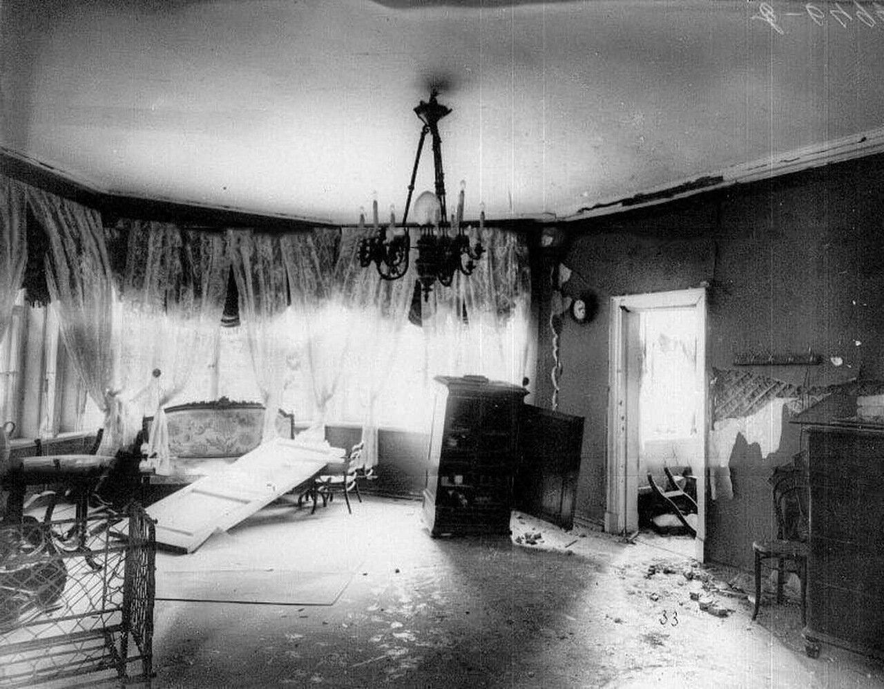 13. Детская комната на даче П.А.Столыпина на Аптекарском острове, пострадавшая от взрыва