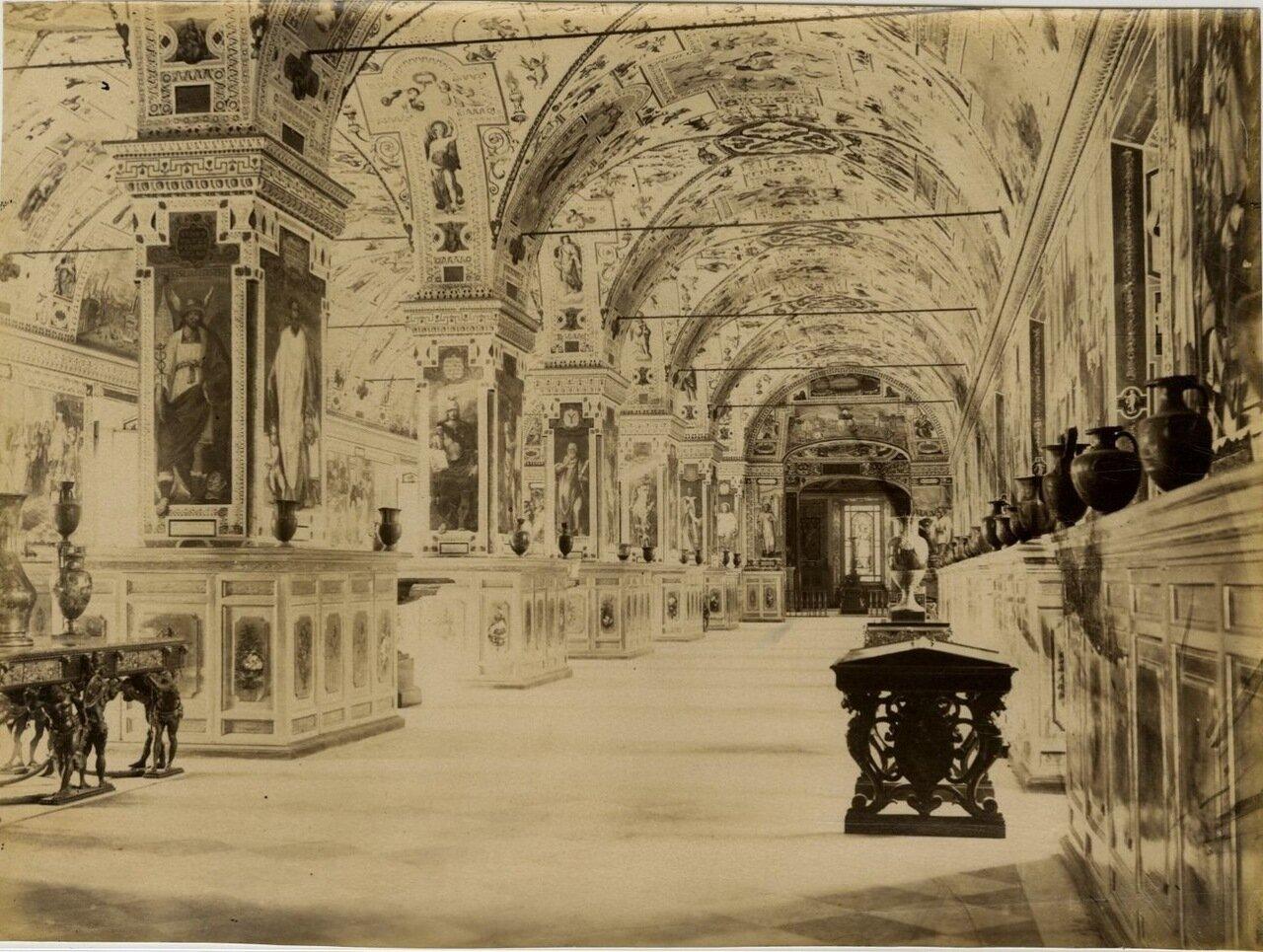 Библиотека Ватикана. 1870.