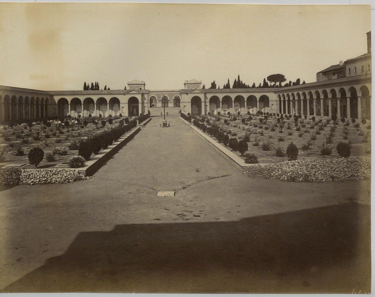 Кампо Верано. Главный вход.1875.