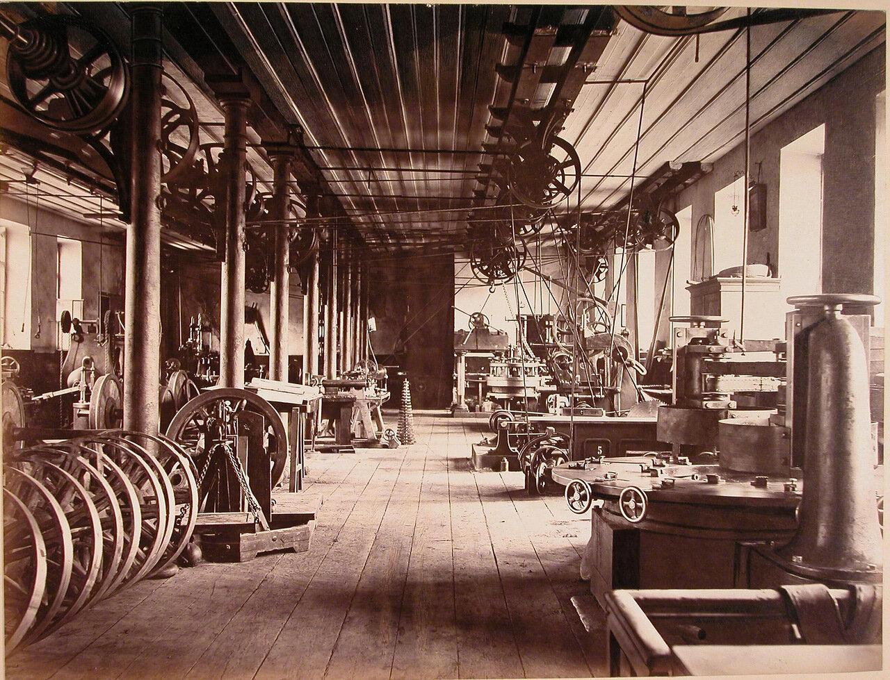 17. Общий вид колесной мастерской завода, где изготавливались вагонные колеса системы Манзеля и железные колеса
