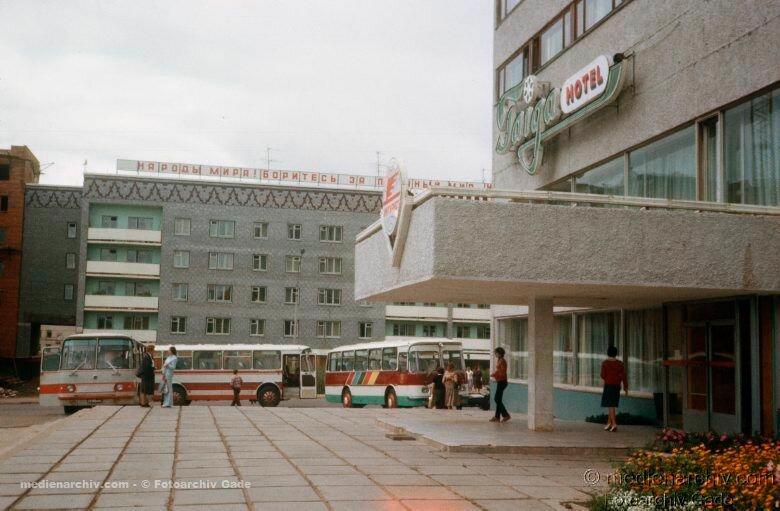 1980. 11. Гостиница и ресторан «Тайга». ул.Мира, 35.