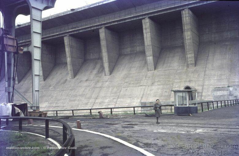 1970. 14. На братской ГЭС