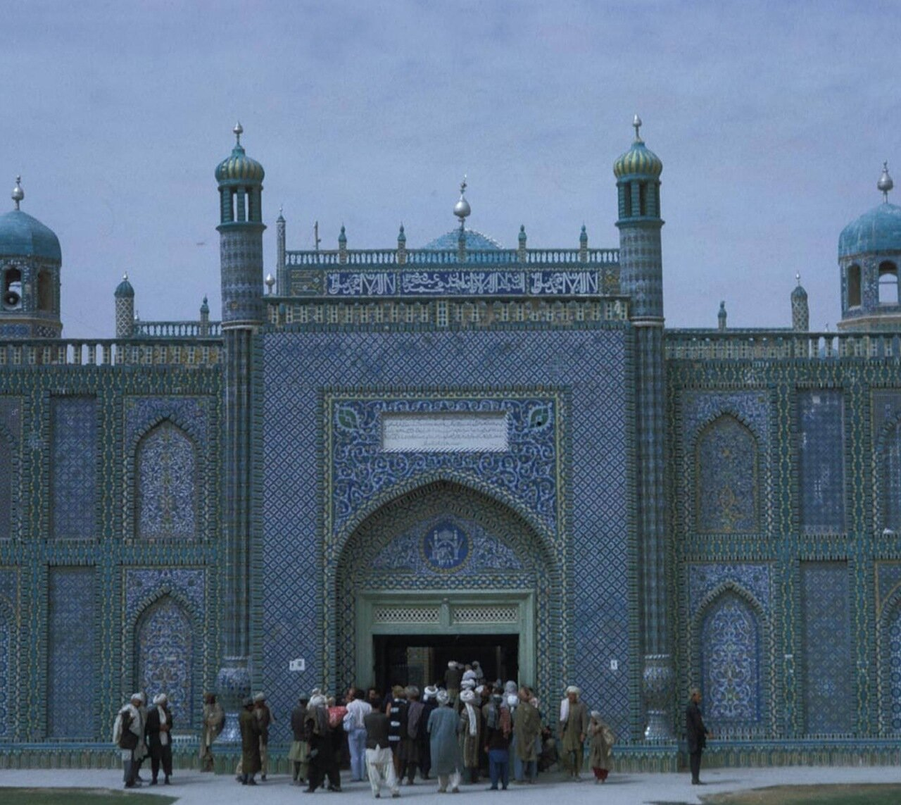 Мазари-Шериф. Мечеть Хазрат Али
