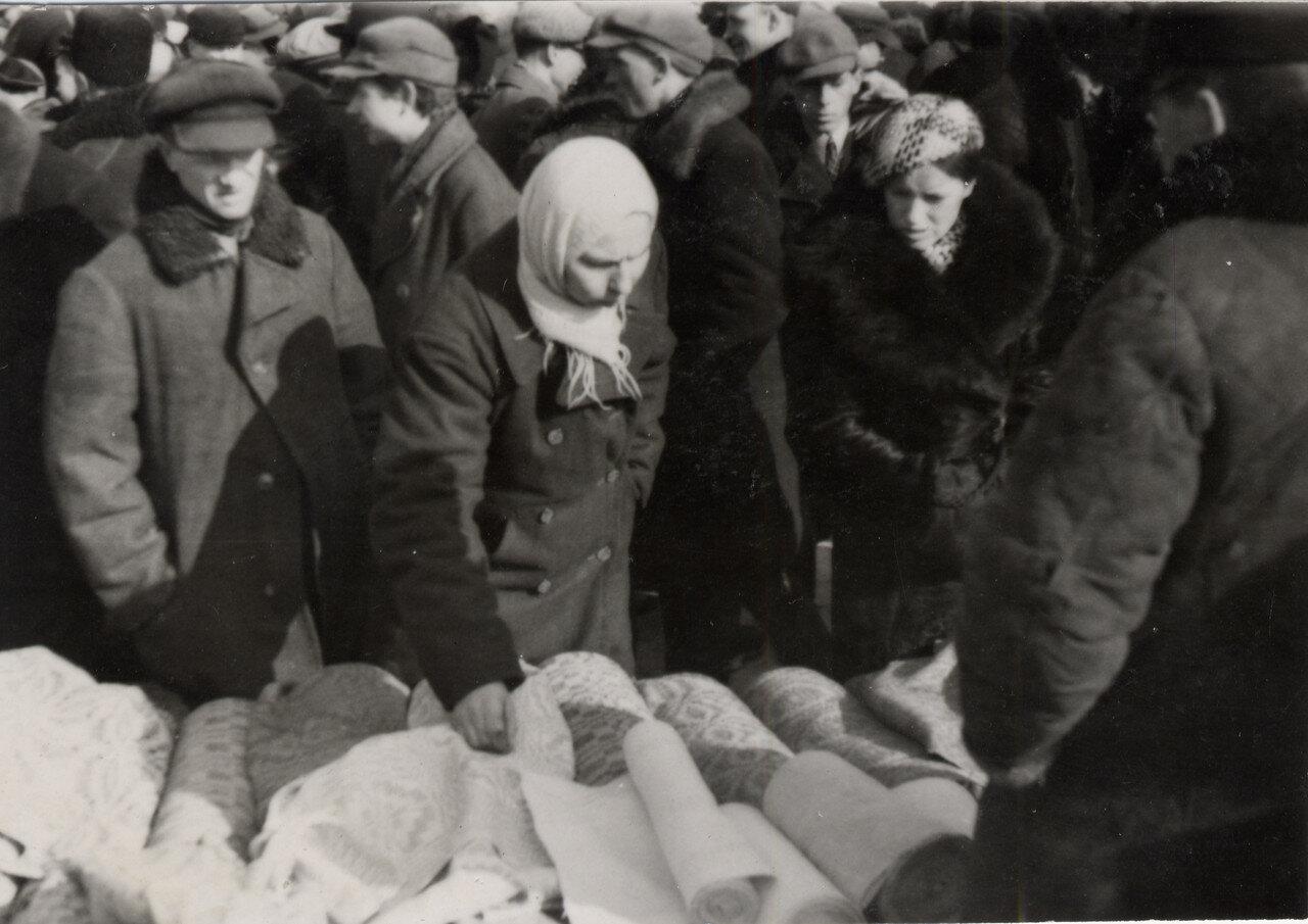 Кирмаш. Серьёзный покупатель.1939