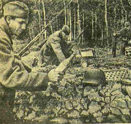 «Красная звезда», 25 июля 1941 года, немецкий солдат