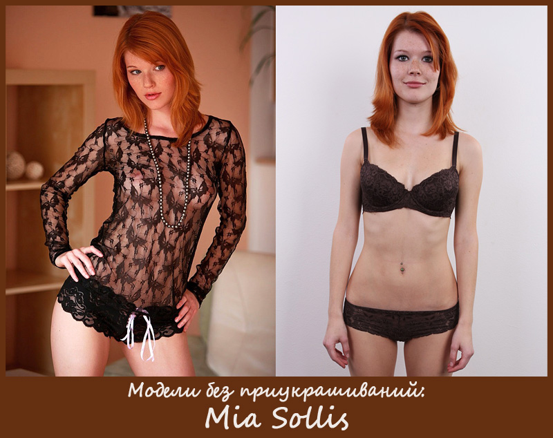 Чешская адалт-модель Mia Sollis