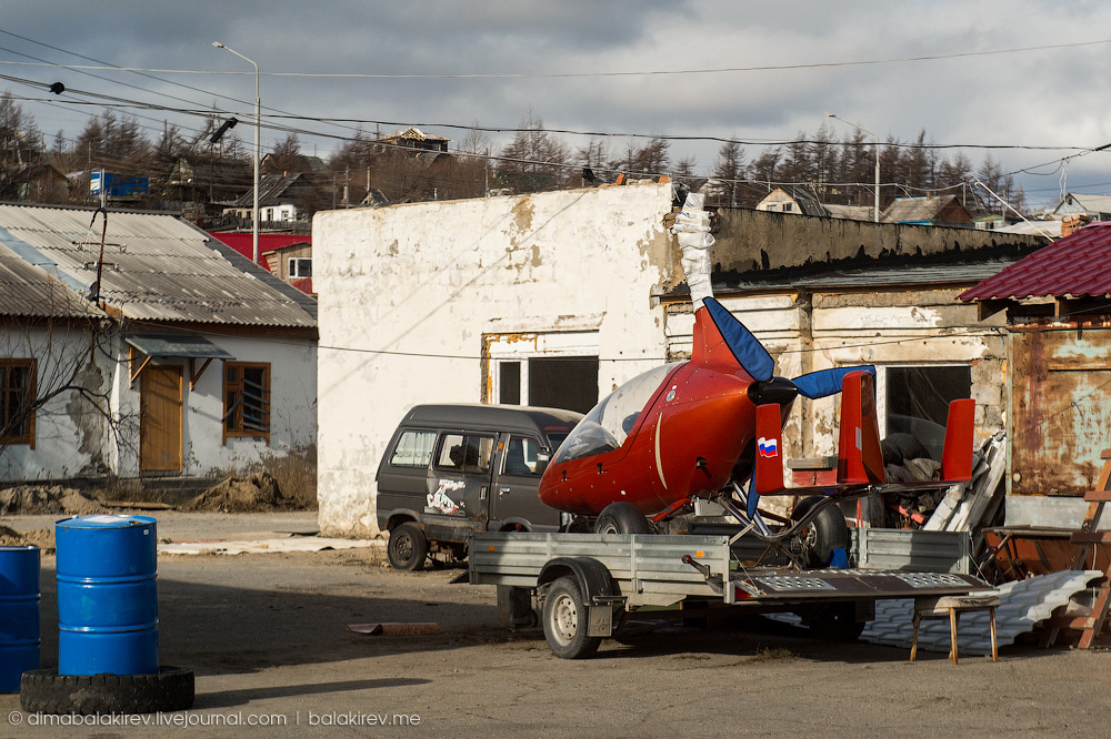 Магадан с вертолёта