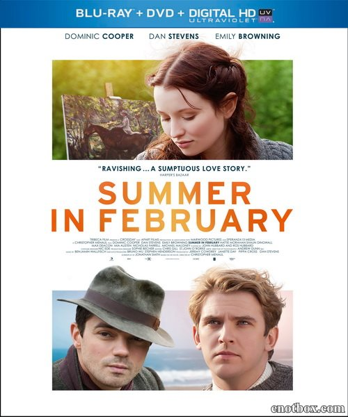 Лето в феврале / Summer in February (2013/BDRip/HDRip)