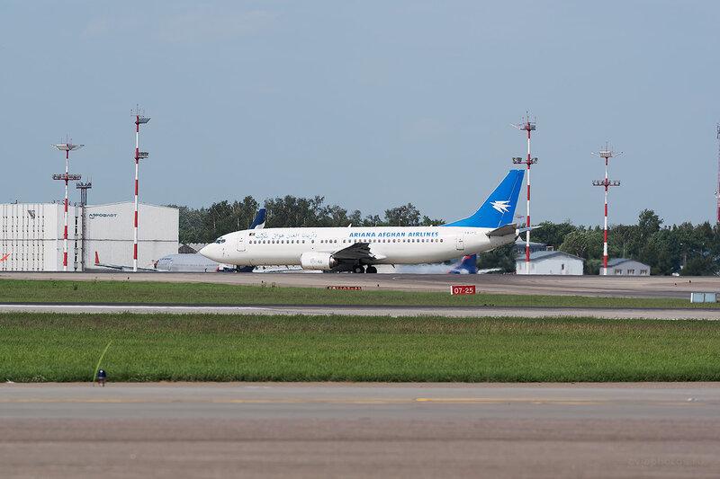 Boeing 737-4Y0 (YA-PIE) Ariana Afghan Airlines D805965