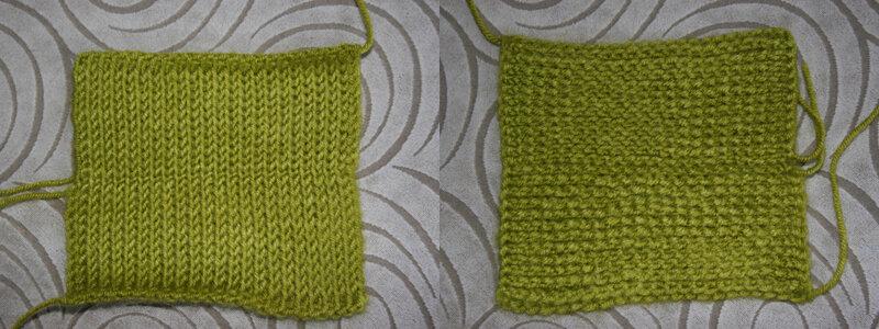 Тунисское вязание простая плетенка 13