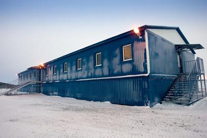 В ноябре начинается заселение модульных арктических военных городков
