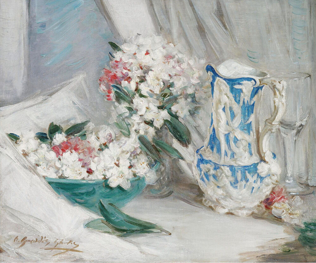 William Somerville Shanks - Still Life with a Blue Jug.jpeg