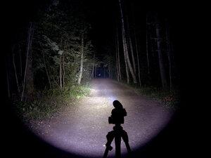 Подствольный охотничий фонарь - EagleTac T200C2 XM-L2 U2 светит так: Средний режим, iso 200