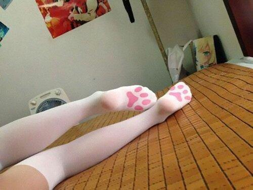 ножки в носочках фото