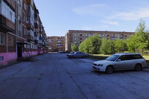 Фото города Инта №7050  Куратова 46, 50 и 52 13.08.2014_11:32