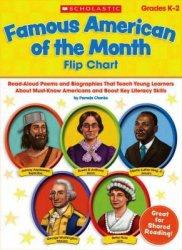Книга Famous American of the Month Flip Chart