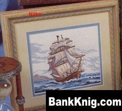 Журнал Схемы вышивки крестом. Морская тематика. jpg, графика 15,1Мб скачать книгу бесплатно