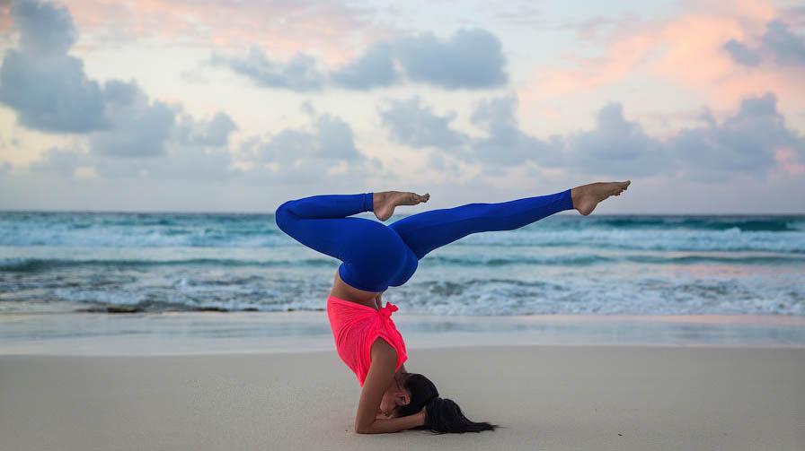 Йога в Анапе на пляже