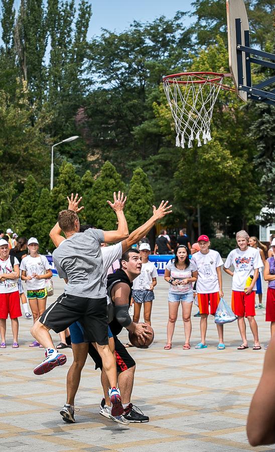 Анапа уличный баскетбол