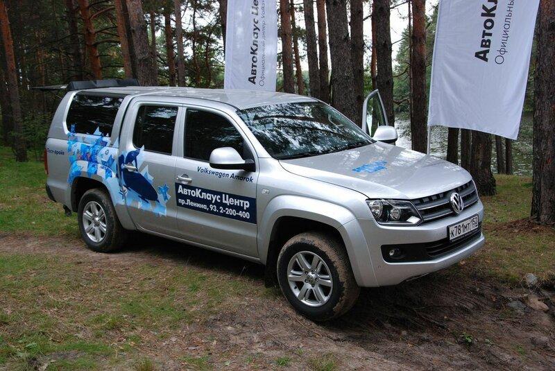 Джиг-пари 2013, тест-драйв Volkswagen Amarok
