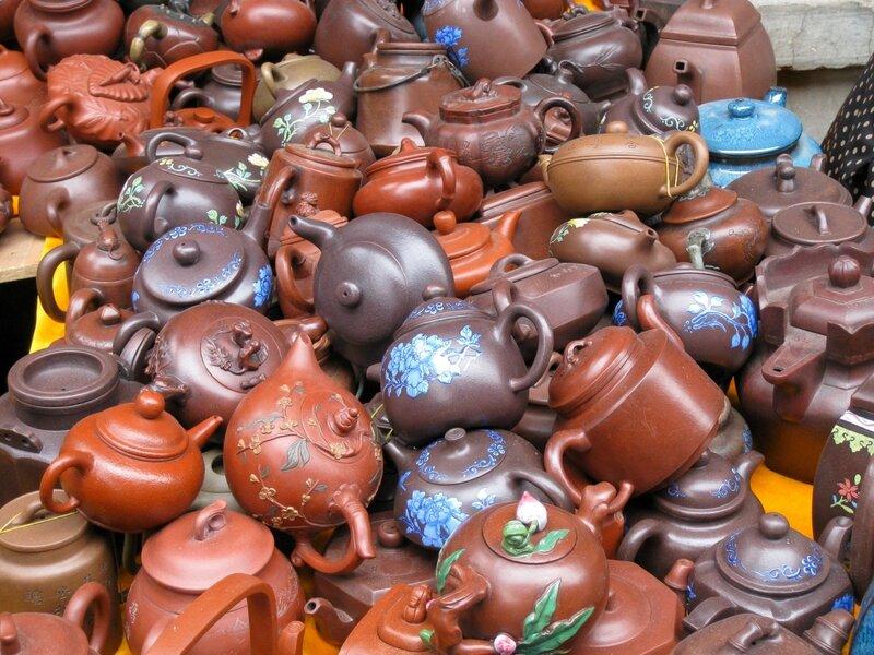 Чайники, рынок Паньцзяюань, Пекин