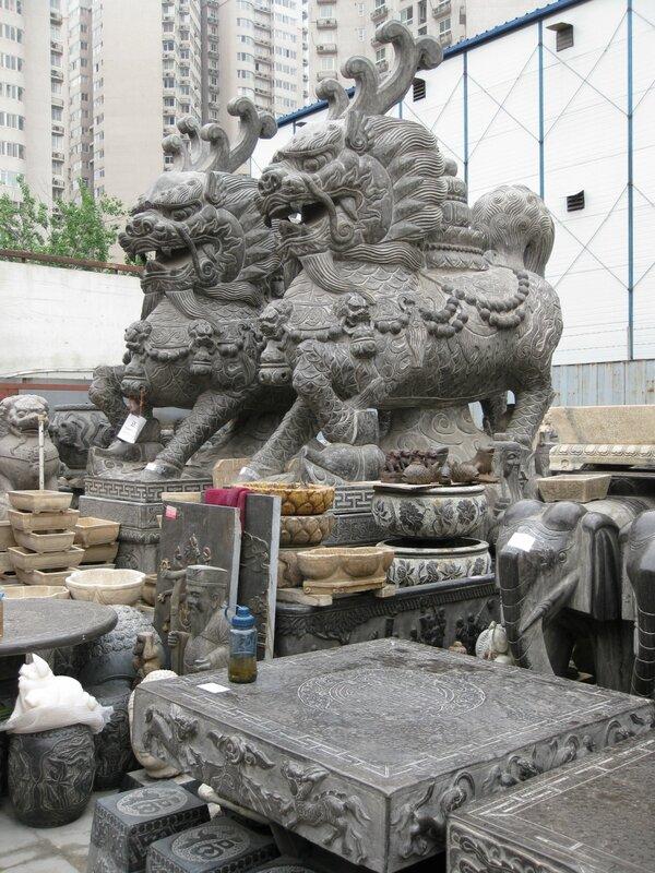 Цилини, рынок Паньцзяюань, Пекин