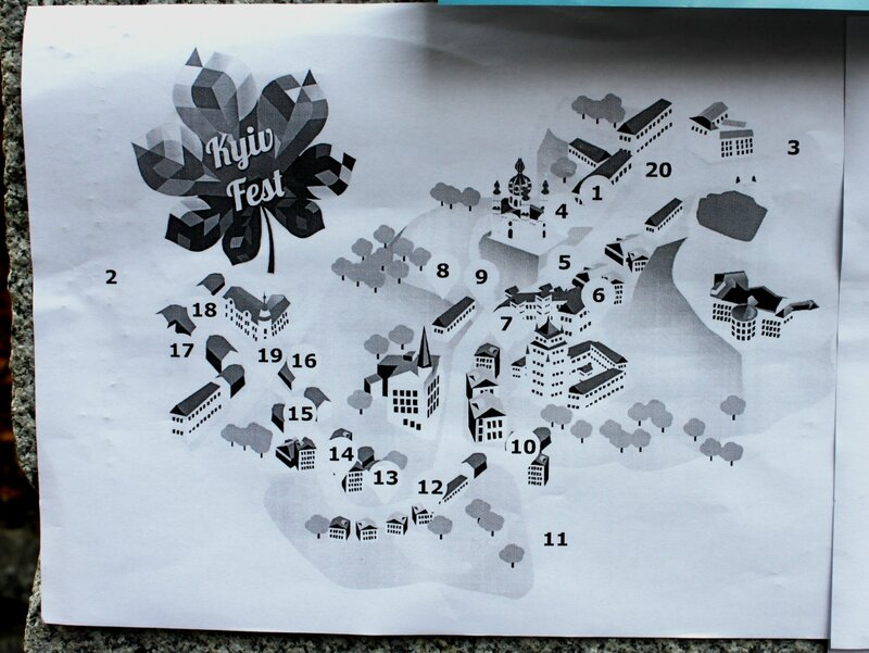 Карта локаций фестиваля