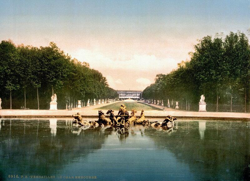 Бассейн Аполлона с триумфальной колесницей