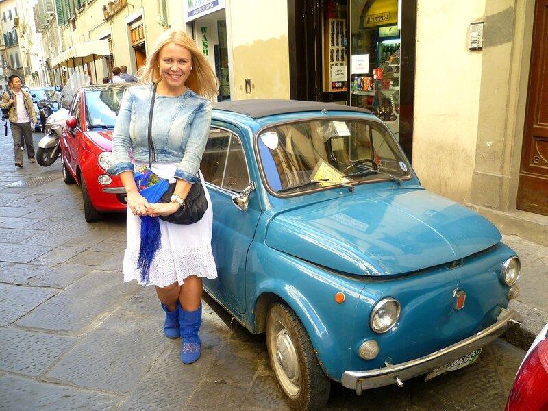 Фиат во Флоренции, Италия (Fiat in Florence, Italy)