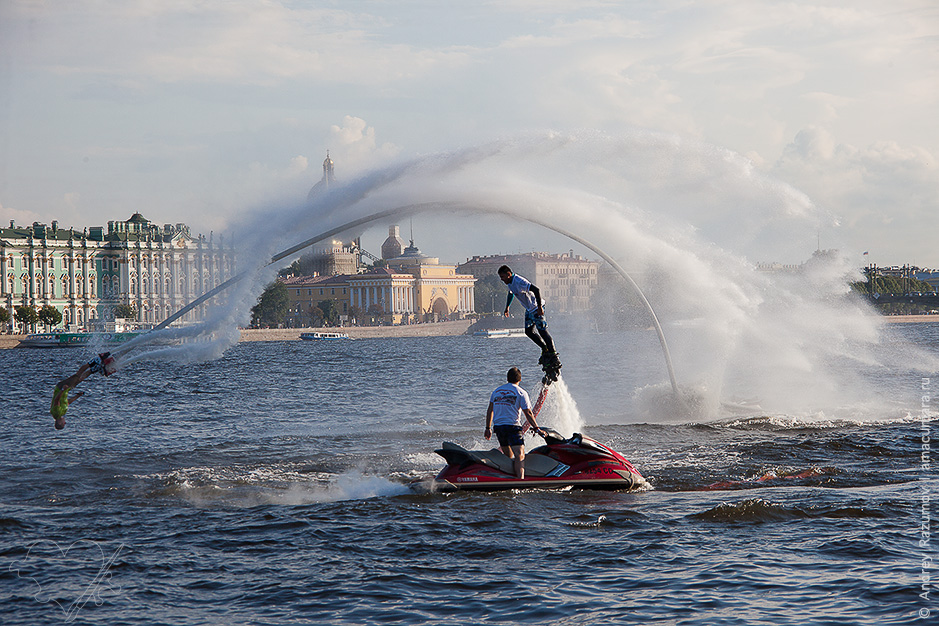 Flyboard Show на Неве