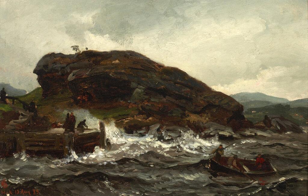 Hans Gude - Tordenveirsstudie (1873).jpg