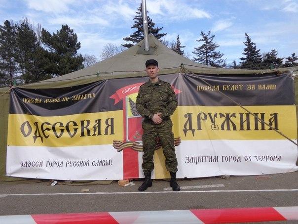 Антон Раевский в Одессе