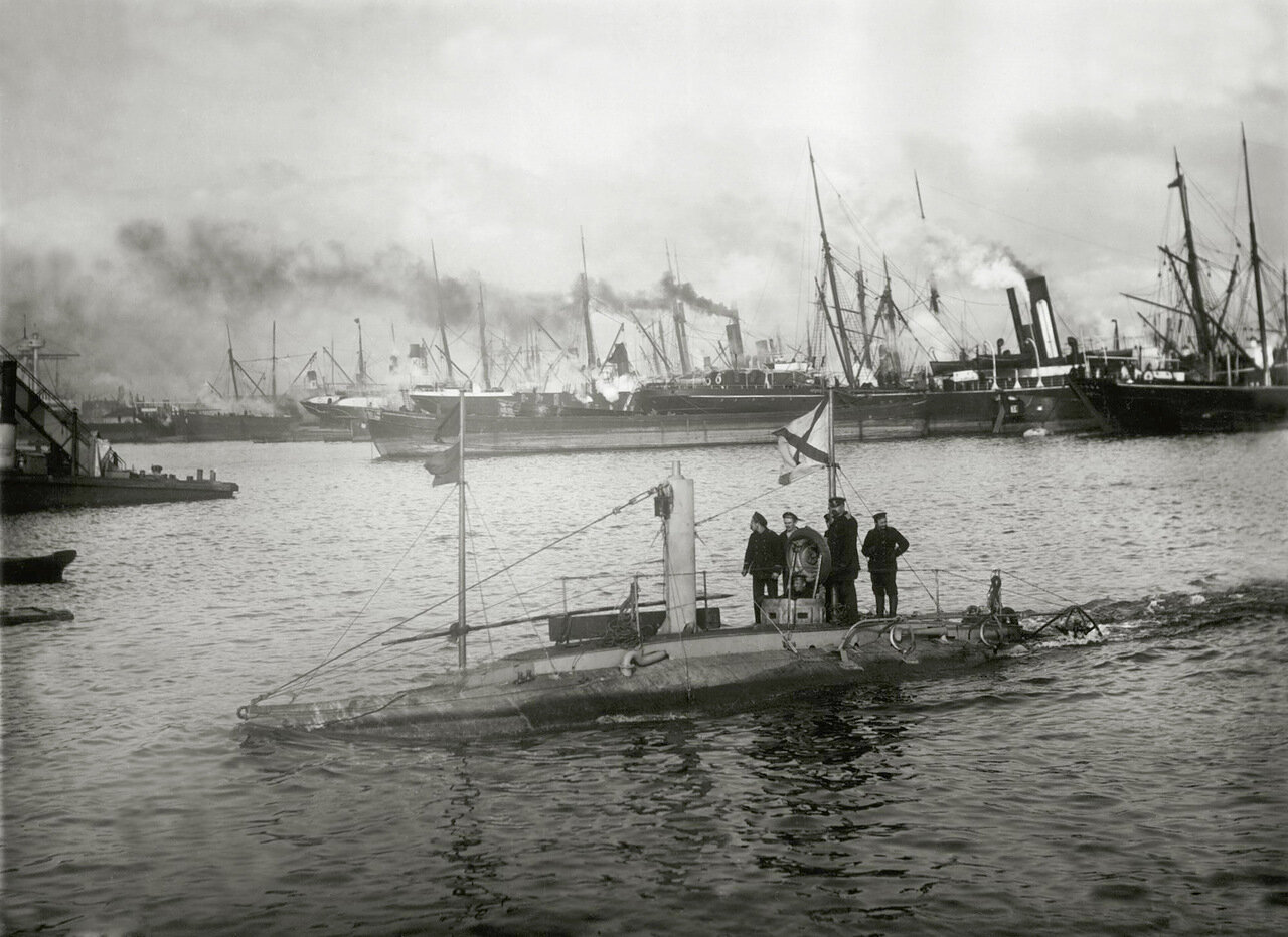 08. Подводная лодка «Дельфин» до модернизации, Балтика, 1904