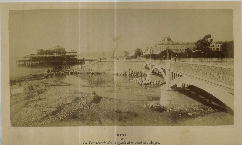 1875. Английская набережная и мост Ангелов