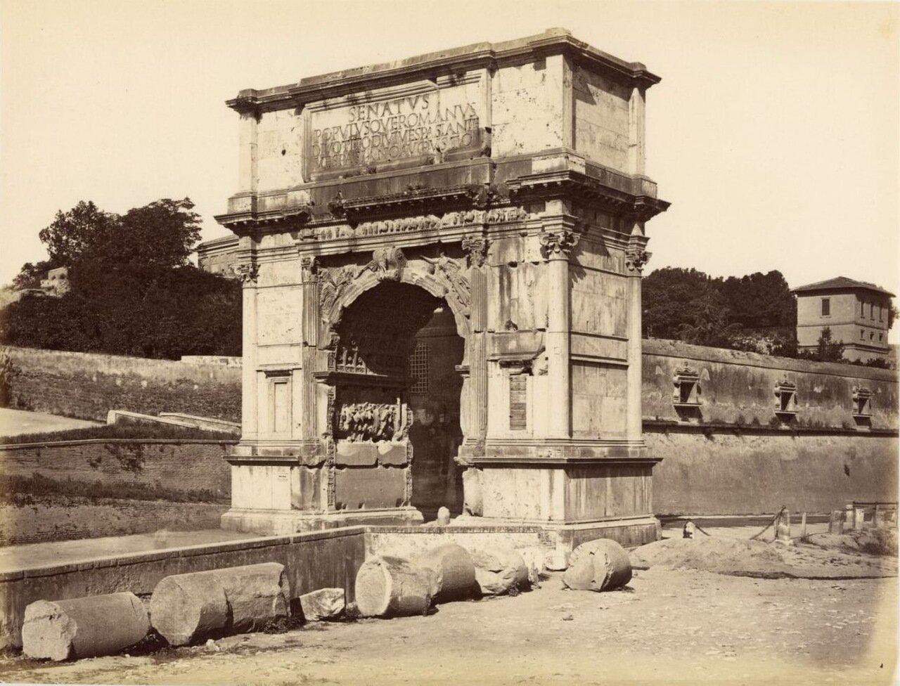 Арка Тита. 1870