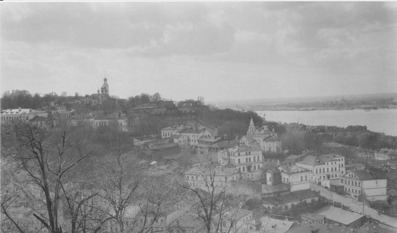 11. Нижний Новгород. Вид на город и Волгу