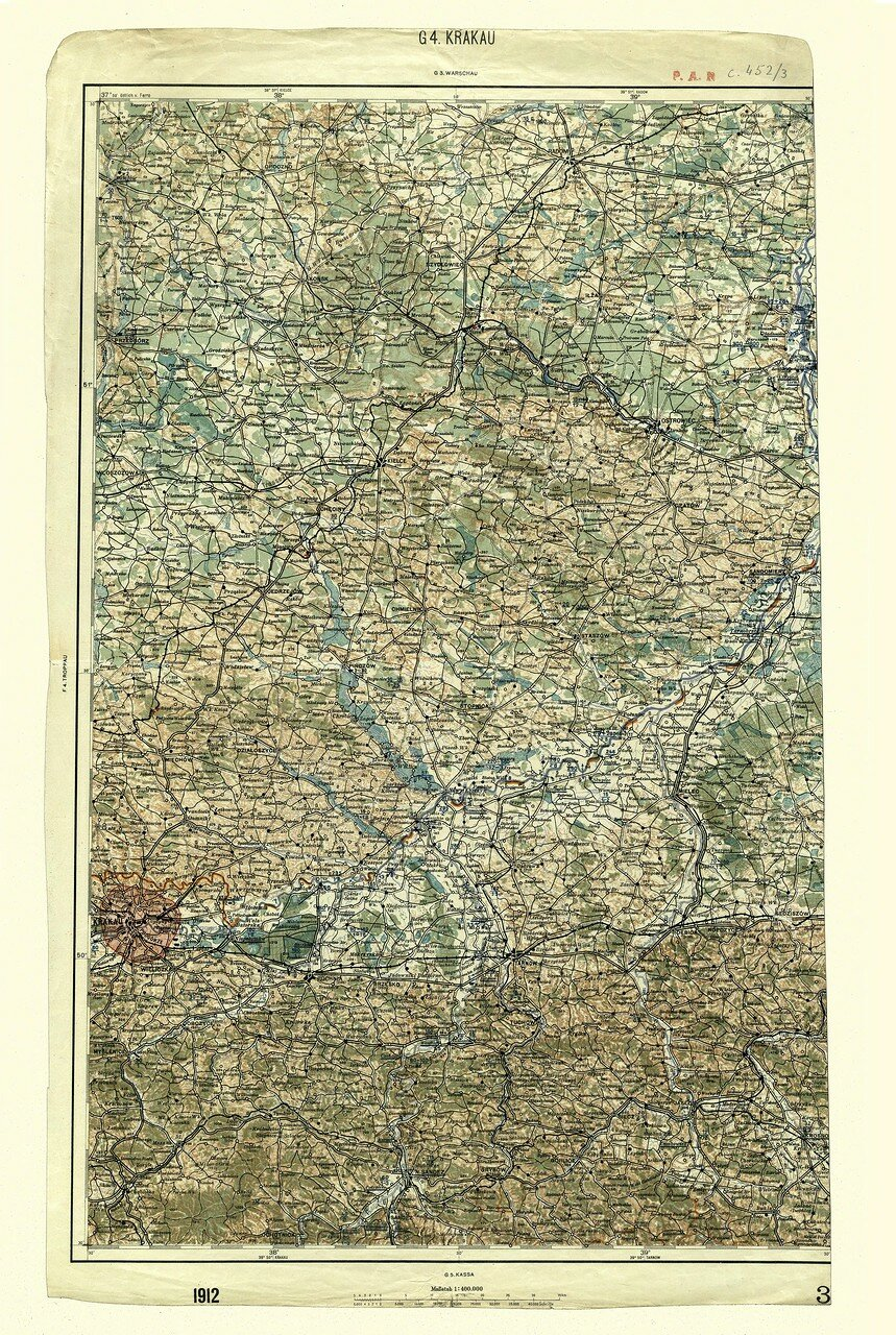 Краков. 1912