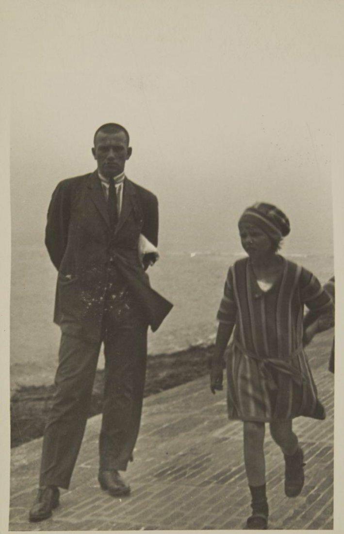 1923. Маяковский на отдыхе, Остров Нордерней, Германия